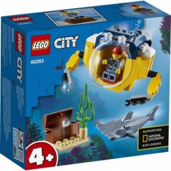 LEGO City Oceans 60263 Ocean Mini-Submarine