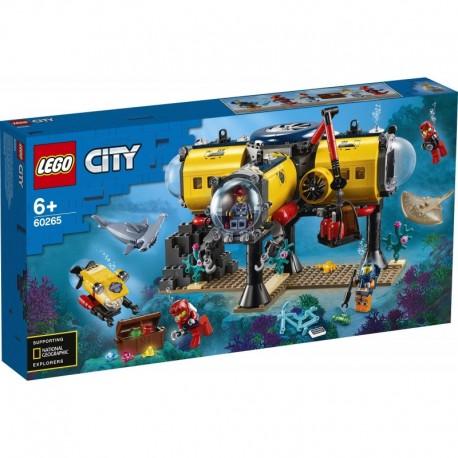 LEGO City Oceans 60265 Ocean Exploration Base