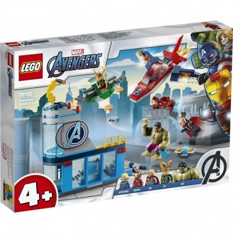 LEGO Marvel Avengers Movie 4 76152 Avengers Wrath of Loki