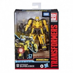 Transformers Toys Studio Series 57 Deluxe Class Bumblebee Movie Offroad Bumblebee Action Figure
