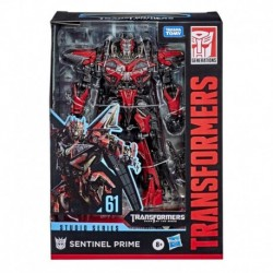 Transformers Toys Studio Series 61 Voyager Class Dark of the Moon Sentinel Prime Action Figure