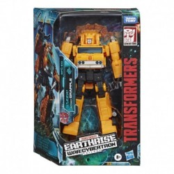 Transformers Toys Generations War for Cybertron: Earthrise Deluxe Voyager WFC-E10 Autobot Grapple
