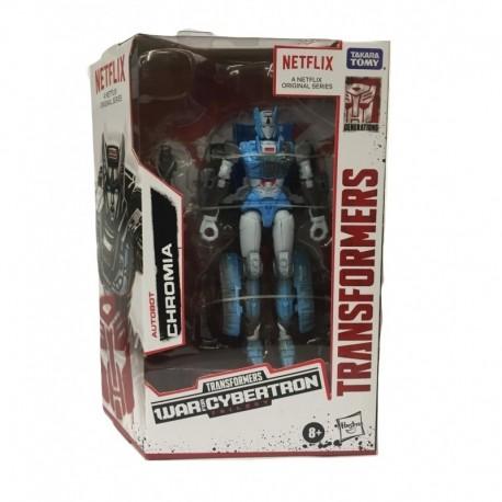 Transformers Netflix Series Autobot Chromia