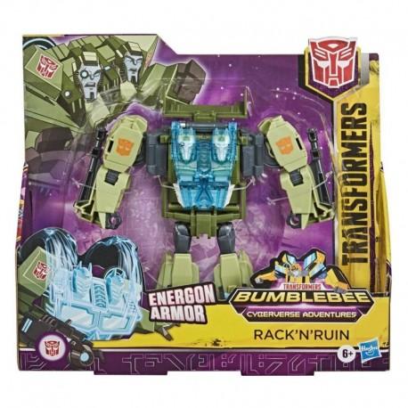 Transformers Toys Cyberverse Ultra Class RACK'N'RUIN Action Figure