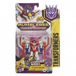 Transformers Bumblebee Cyberverse Adventures Action Attackers Warrior Class Starscream Action Figure