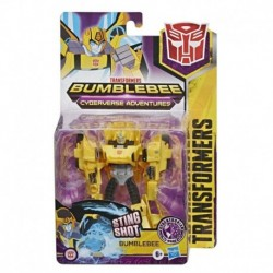 Transformers Bumblebee Cyberverse Adventures Action Attackers Warrior Class Bumblebee Action Figure