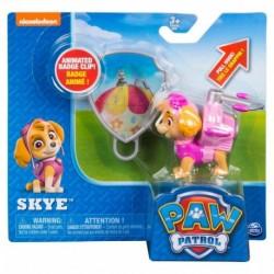 Paw Patrol Action Pack Pup & Badge - Skye