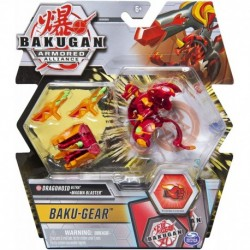 Bakugan Armored Alliance DX and Baku Gear Pack 01 -Dragonoid V2 Red