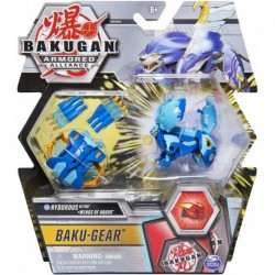 Bakugan Armored Alliance DX and Baku Gear Pack 01 - Hydorous V2 Blue