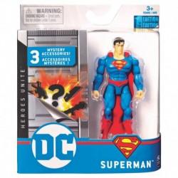 DC Comics 4-Inch Action Figure - Superman S1 V1 M1
