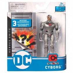 DC Comics 4-Inch Action Figure - Cyborg S1 V1 M2