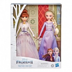 Disney Frozen Anna and Elsa Fashion Doll Set
