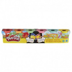 Play-Doh Modeling Compound Split and Share 6-Pack For Home and School
