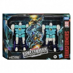 Transformers Earthrise Cybertronian Villians Wingspan and Pounce 2pack