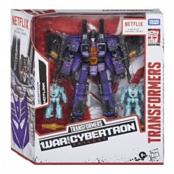 Transformers War for Cybertron Series-Inspired Decepticon Hotlink 3-Pack