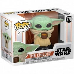 Funko Pop! Star Wars 378: Mandalorian - The Child with Cup (Baby Yoda)