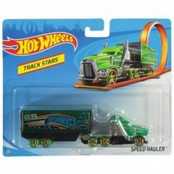 Hot Wheels Track Stars Speed Hauler - Green