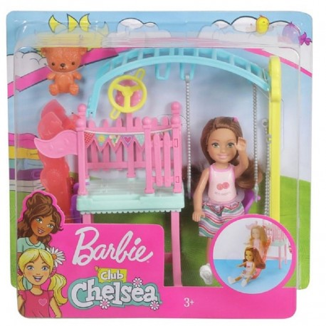 Barbie Club Chelsea Doll and Swing Set Playset
