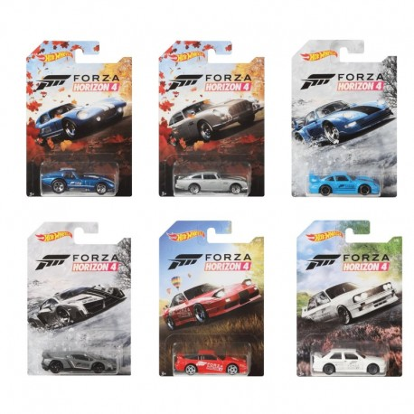 Hot Wheels Forza Horrizon 4 Complete Box of 10