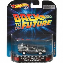 Hot Wheels Entertainment: Back to The Future Time Machine 2