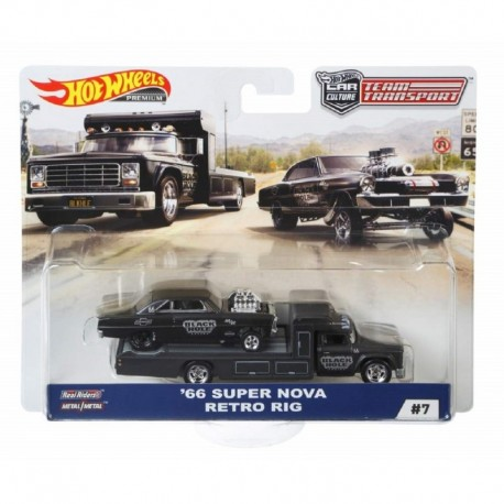 Hot Wheels Car Culture '66 Super Nova Retro Rig