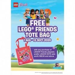 LEGO Friends Tote Bag GWP