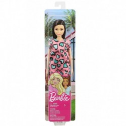 Barbie Dolls - Pink and Blue Heart Dress