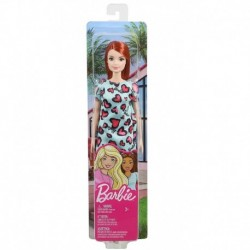 Barbie Dolls - Blue and Pink Heart Dress