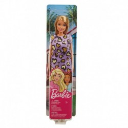 Barbie Dolls - Purple and Yellow Heart Dress
