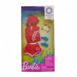 Barbie Tokyo 2020 Olympics Fashion Pack Red