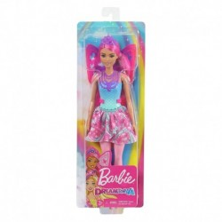 Barbie Dreamtopia Fairy Doll - Pink Hair with Wings