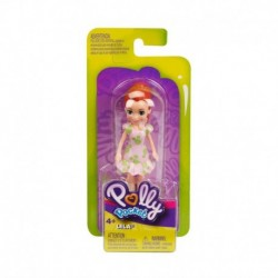 Polly Pocket and Friends Figure - Lila with Pink Dress