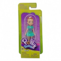 Polly Pocket and Friends Figure - Lila with Green Dress
