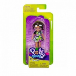 Polly Pocket and Friends Figure - Shani with Black n' White Dress