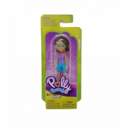 Polly Pocket and Friends Figure - Shani with Stripe Blue Shirt
