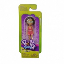 Polly Pocket and Friends Figure - Shani with Pink Dress