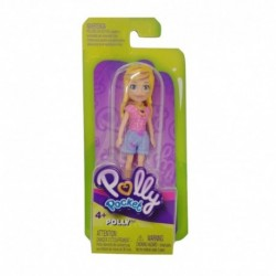 Polly Pocket and Friends Figure - Polly with Pink Shirt