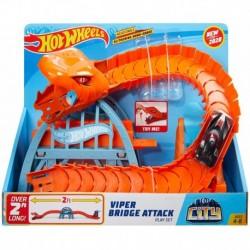 Hot Wheels Viper Bridge Attack Play Set