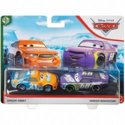 Disney Pixar Cars: Speedy Comet and Parker Brakeston 2-Pack