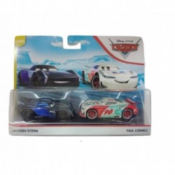 Disney Pixar Cars: Jackson Storm and Paul Conrev 2-Pack