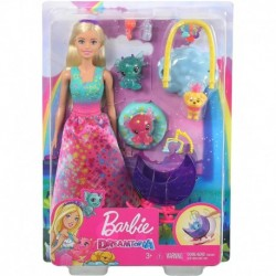 Barbie Dreamtopia Dragon Nursery Playset with Barbie Princess Doll and Accessories