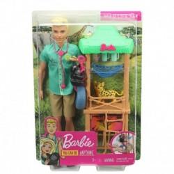 Barbie Ken Wildlife Vet Playset with Doll