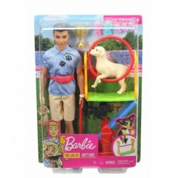 Barbie Ken Dog Trainer Playset with Doll