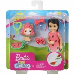 Barbie Club Chelsea Dress-Up Doll in Watermelon Costume