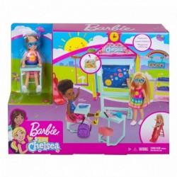 Barbie Club Chelsea Doll and School Playset