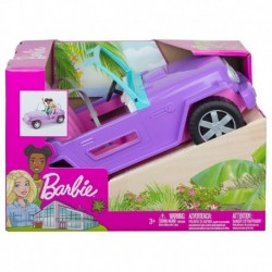 Barbie Off-Road Vehicle with Rolling Wheels