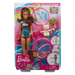 Barbie Dreamhouse Adventures Teresa Spin 'n Twirl Gymnast Doll