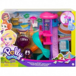 Polly Pocket Pollyville Super Slidin' Water Park