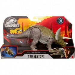 Jurassic World Sound Strike Dinosaur Action Figure - Triceratops