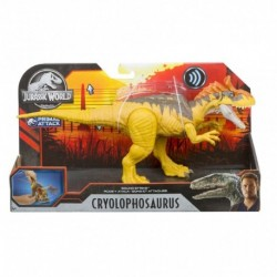 Jurassic World Sound Strike Dinosaur Action Figure - Cryolophodaurus